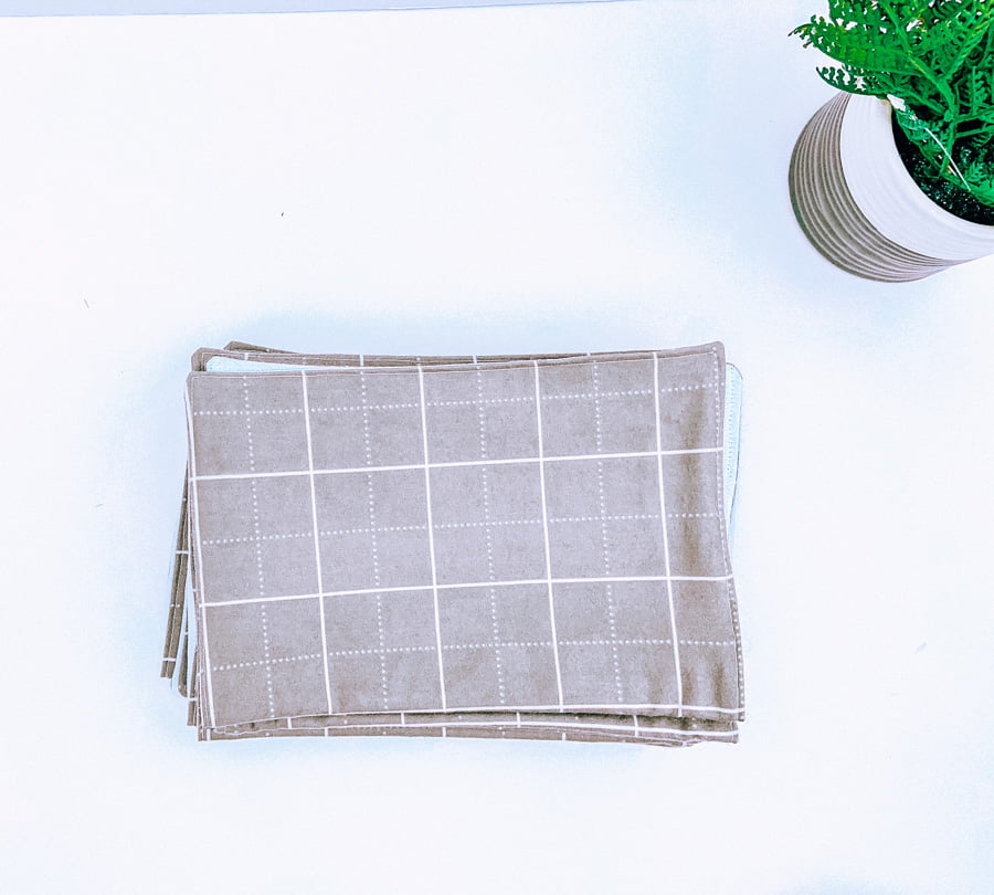Reusable paper towels for kitchen cleaning